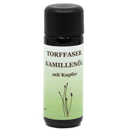 Torffaser-Kamillenöl mit Kupfer