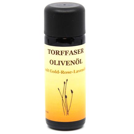 Torffaser Olivenöl mit Gold-Rose-Lavendel