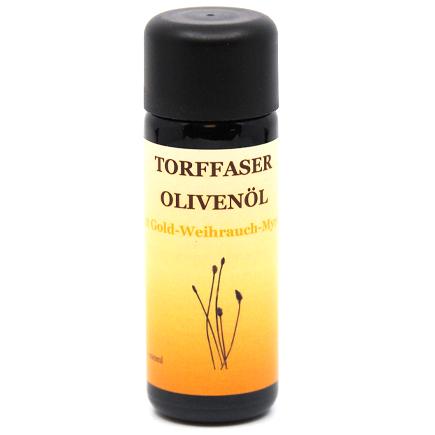 Torffaser-Olivenöl mit Gold-Weihrauch-Myrrhe
