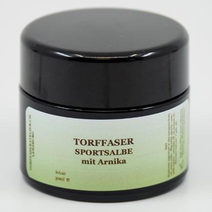 Torffaser-Sportsalbe mit Arnika