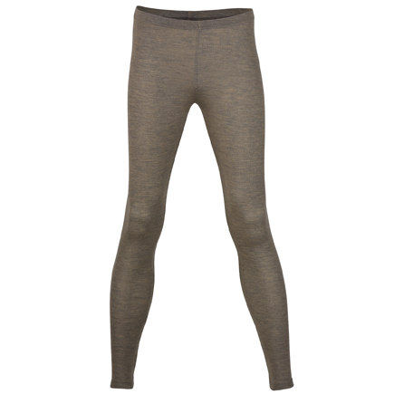 Damen-Leggins Feinripp, walnuss