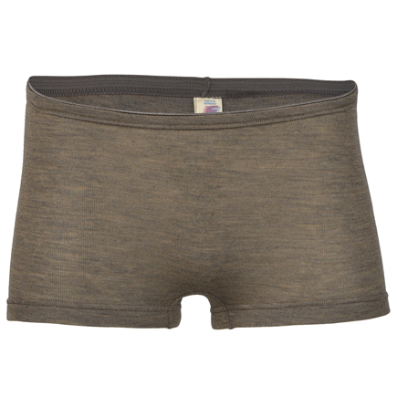 Damen-Pants Feinripp, walnuss
